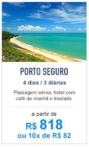 Porto Seguro / R$ 818
