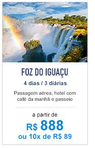 Foz do Iguaçu / R$ 888