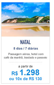 Natal / R$ 1.298