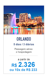 Orlando / R$ 2.326