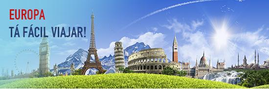 Europa com promoções imperdíveis ... Tudo em até 10x sem juros!
