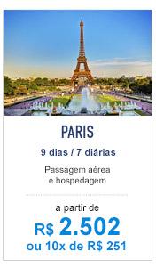 Paris / R$ 2.502