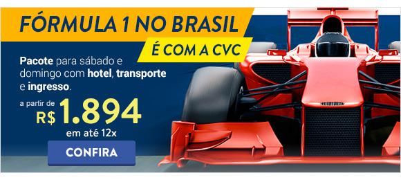 Formula 1 com a CVC