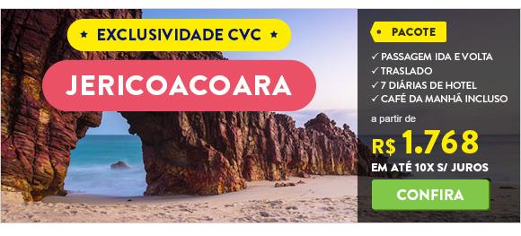 Jericoacoara. Exclusividade CVC. Ofertas a partir de 1.768 reais.